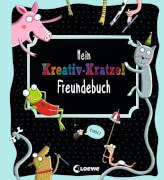 Loewe Mein Kreativ-Kratzel Freundebuch