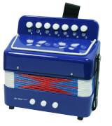 Akkordeon  blau