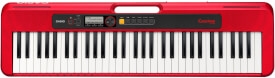 Keyboard Casio CT-S200RDC7 rot, 61 Standardtasten