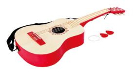 Hape Gitarre in Rot