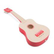Gitarre - natur / rot