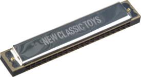 New Classic Toys - Musikinstrument - Mundharmonika metall 20 Töne