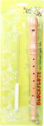 Boogie Bee Blockflöte Holz, 32 cm, Deutsch
