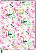 Jahreskalender: Mein Jahr 2022 - Blüten (All about rosé)