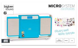 bigben Micro Kompaktanlage Kids blau MCD10