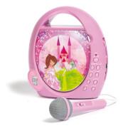 CD-Player und Radio Elfe für Kinder, pink