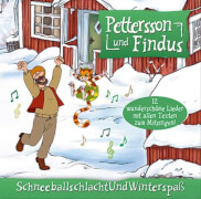 CD Petterson und Findus Schneeballschlacht und Winterspaß