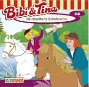 Bibi und Tina - Folge 58: Die rätselhafte Schatzsuche (CD)