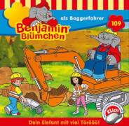 Benjamin Blümchen - Folge 109: Benjamin als Baggerfahrer (CD)