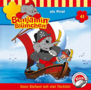 Benjamin Blümchen - Folge 41: Benjamin als Pirat (CD)