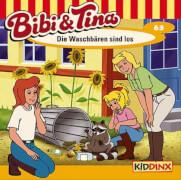 Bibi und Tina - Folge 63: Die Waschbären Sind los (CD)