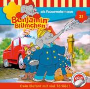 CD Benjamin Blümchen: Benjamin als Feuerwehrmann, Folge 31