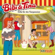 Bibi und Tina - Folge 64: Hilfe für die Tierpension (CD)