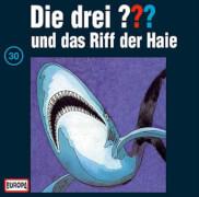 CD Die Drei ???: und das Riff der Haie, Folge 30