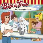 Bibi und Tina - Folge 67: Das Tierarztpraktikum (CD)