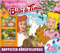CD Bibi & Tina Box:Tiere i.Wald