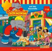 Benjamin Blümchen - Folge 118: Auf der Baustelle (CD)