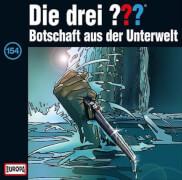 CD Die Drei ???: Botschaft aus der Unterwelt, Folge 154