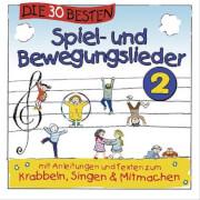 CD Die 30 besten Spiel- und Bewegungslieder, Folge 2