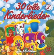 CD 30 tolle Kinderlieder 2