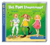 Lindgren, Hej, Pippi - Lieder CD