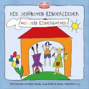 CD Kinderlieder-Aus d.Kiga