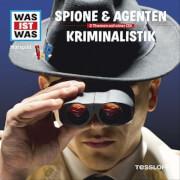Tessloff WAS IST WAS Hörspiel: Spione & Agenten/ Kriminalistik