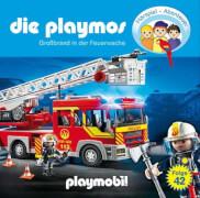 Die Playmos - Folge 42: Großbrand in der Feuerwache (CD)