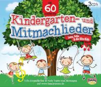 CD 60 Kindergarten-u.Mitmachlieder