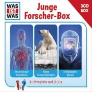 Tessloff WAS IST WAS 3-CD-Hörspielbox Junge Forscher