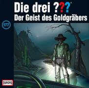 CD Die drei ???: Der Geist des Goldgräbers, Folge 177