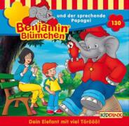 Benjamin Blümchen - Folge 130: Benjamin und der sprechende Papagei (CD)
