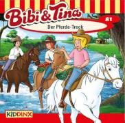 Bibi und Tina - Folge 81: Der Pferde-Treck (CD)