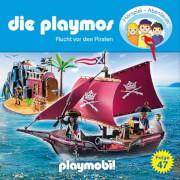 Die Playmos - Folge 47: Flucht vor den Piraten (CD)