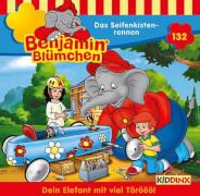 Benjamin Blümchen - Folge 132: Das Seifenkistenrennen (CD)