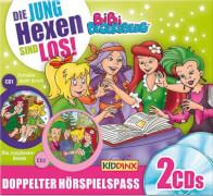 CD Bibi Blocksberg - Die Junghexen sind los von, 2 CDs