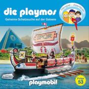 Die Playmnos - Folge 53: Geheime Schatzsuche auf der Galeere (CD)
