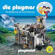Die Playmos - Folge 55: Die Belagerung der Löwenritterburg (CD)