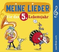 CD Lieder f.d. 5. Lebensjahr
