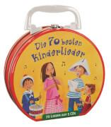 Die 70 Kinderlieder Hörbuchkoffer 4 CD