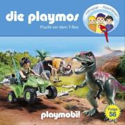 Die Playmos - Folge 56: Flucht vor dem T-Rex (CD)