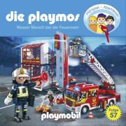 Die Playmos - Folge 57: Wasser marsch bei der Feuerwehr (CD)