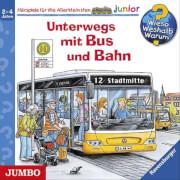 CD Unterwegs mit Bus und Bahn, 1 Audio-CD