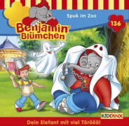 Benjamin Blümchen - Folge 136: Spuk im Zoo (CD)