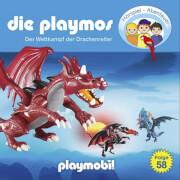 Die Playmos - Folge 58: Wettkampf der Drachenreiter (CD)