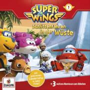 Super Wings - Folge 1: Schlittenfahren in der Wüste / ... (CD)
