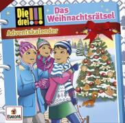 Kosmos CD Die drei !!! CD Adventskalender Das Weihnachtsrätsel