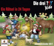 Kosmos CD Die drei ??? Kids CD Adventskalender - Ein Rätsel in 24 Tagen (3 CDs)