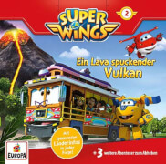 CD Super Wings 2: Vulkan