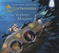 Funke, Drachenreiter Vulkan-Mission 2 CD